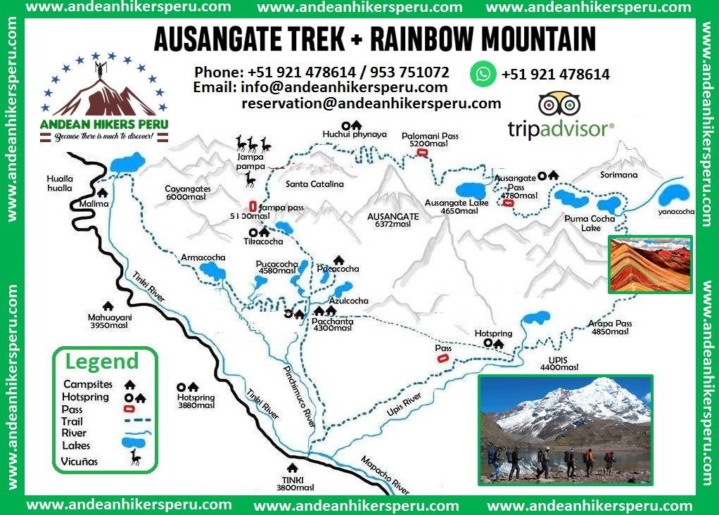 Ausangate + Rainbow Mountain Trek 7 Days 6 Nights Soft ...
